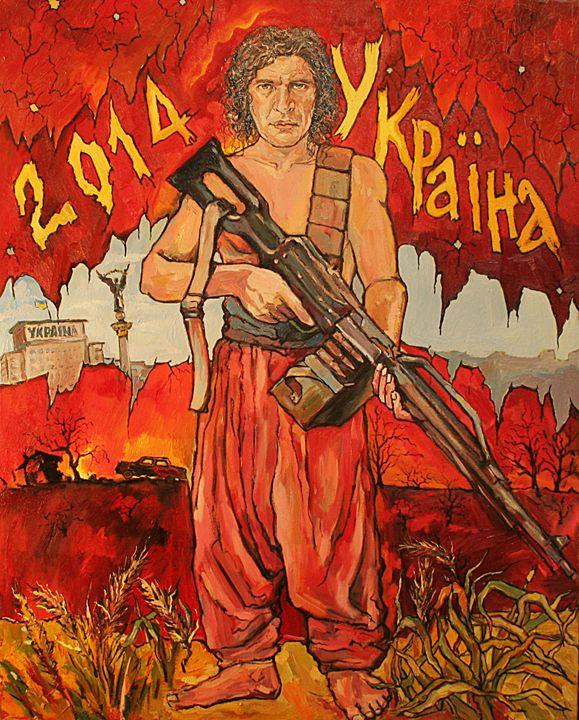Kuzma. Ukrainian singer - Skullinsky