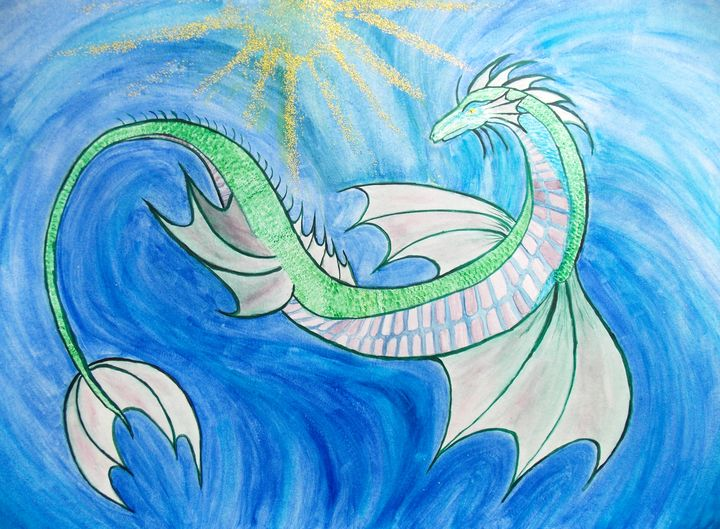Water Dragon - Creation Temple