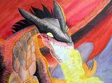 Fire Breathing Dragon Original