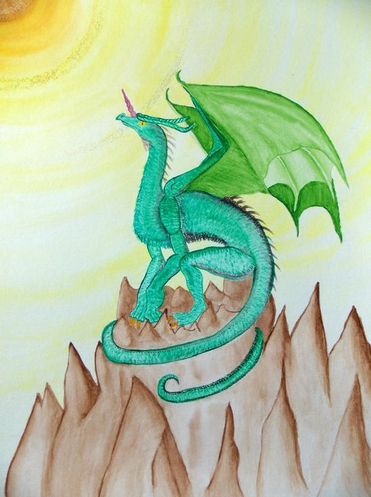 Green Winged Dragon - Creation Temple
