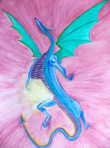 Light Belly Burst Dragon