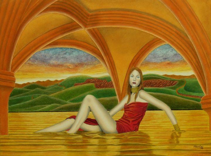 Le Repos d'Aphrodite - ManGas Gallery