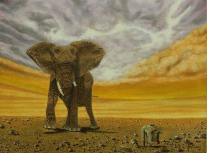 Vestiges Archéologiques en Afrique - ManGas Gallery