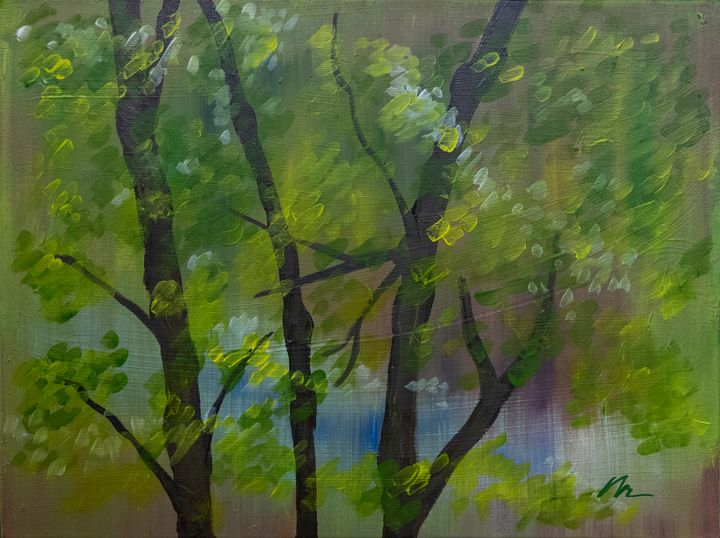 Summers Gone - B Anderson Painting