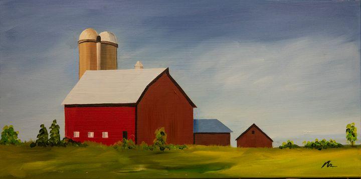 Fit, Energetic - B Anderson Painting