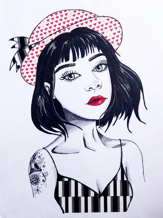 Cute hat gurl - Callie Mclaughlin