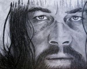 Pencil portraits of leo