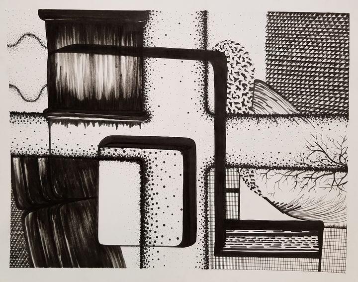 Texture in ink - Callie Mclaughlin