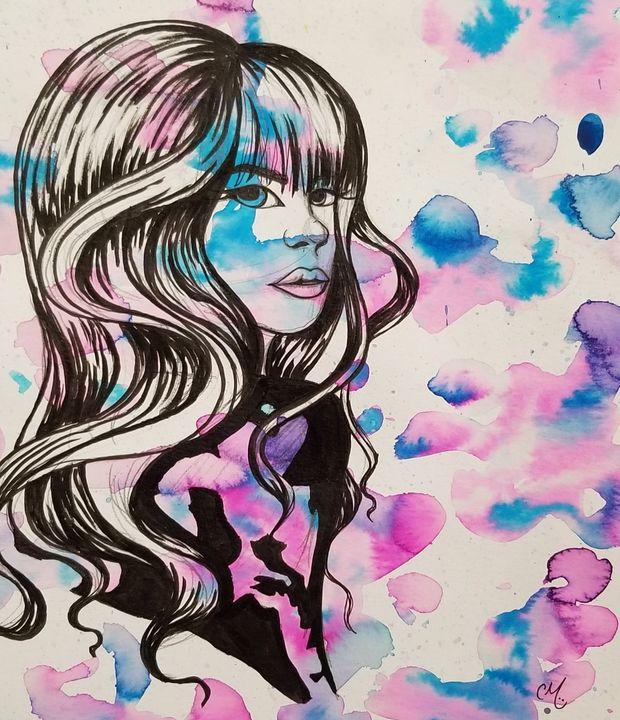 Loves a bright blur - Callie Mclaughlin