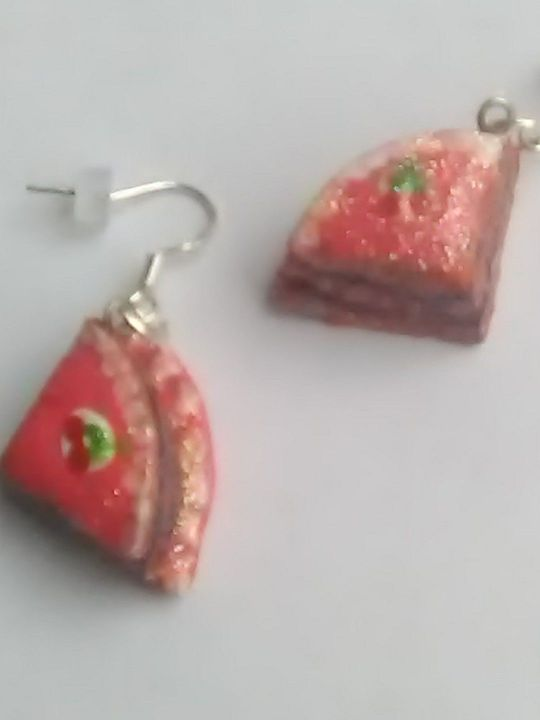 Cake slice clay Earrings KIY Jewelry - York Art Plus