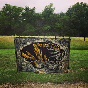 Missouri Tigers Batik