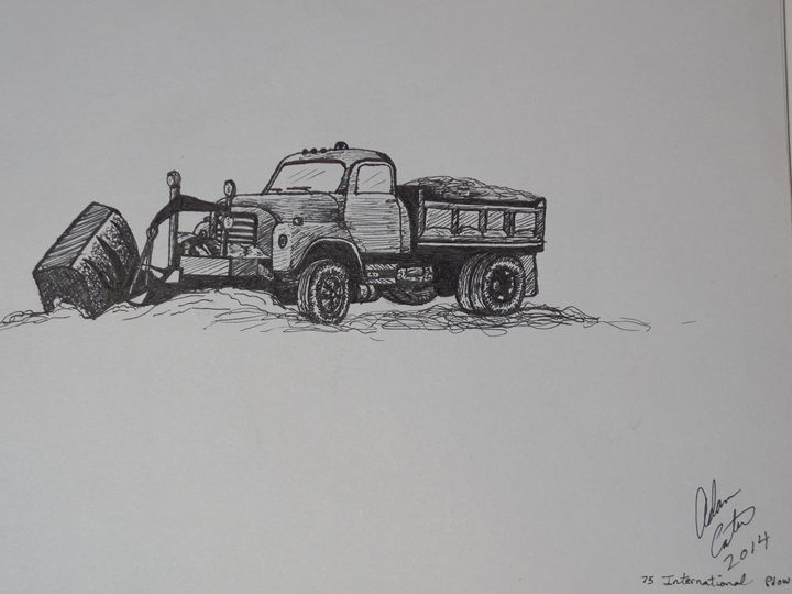 plow truck - cater gallery