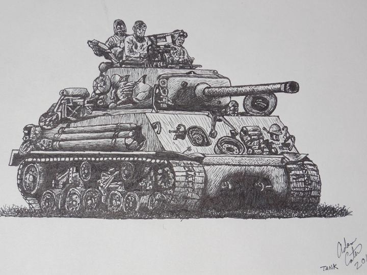 sherman tank crew - cater gallery