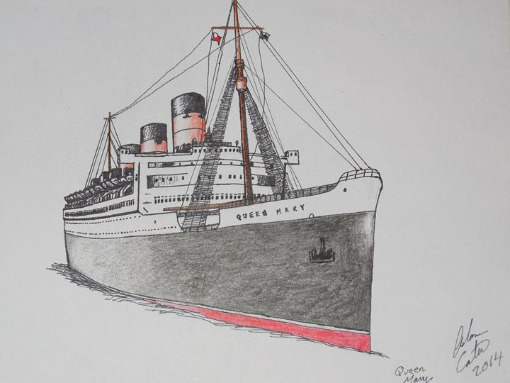 s.s. Queen Mary - cater gallery
