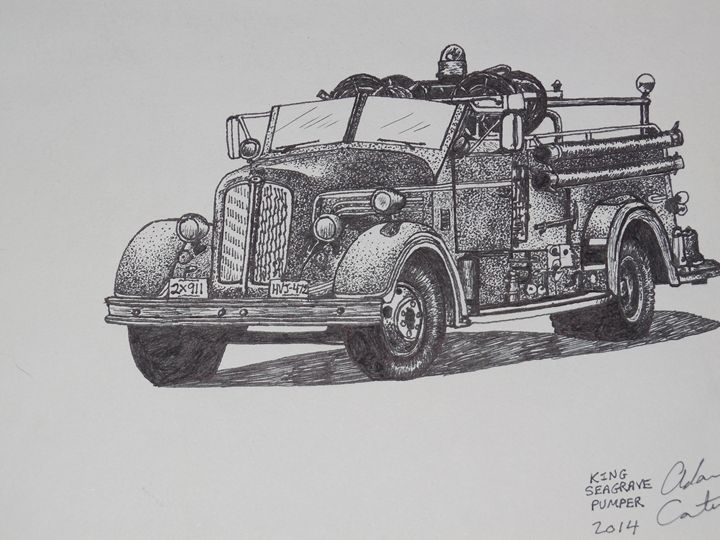 fire truck - cater gallery