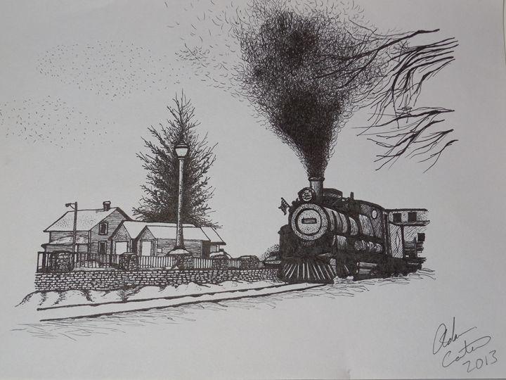 Train in Grand Falls Newfoundland - cater gallery