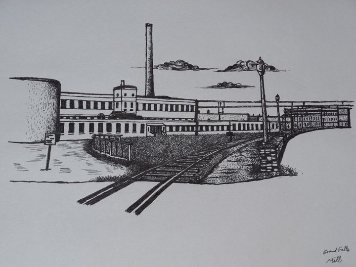 Grand Falls Paper Mill - cater gallery