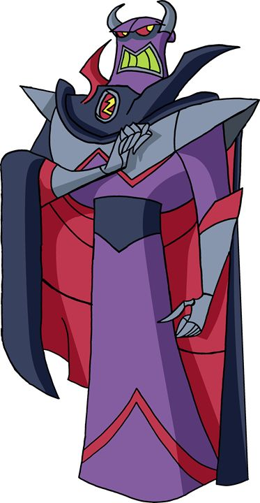 Evil Emperor Zurg (Colored) - My Artwork