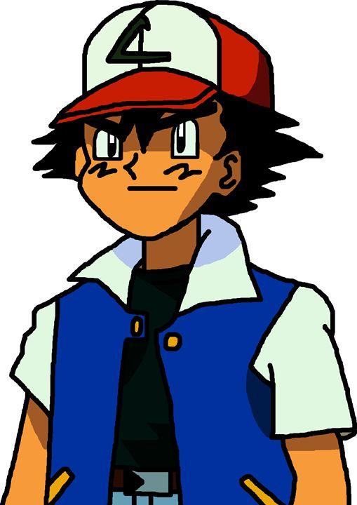 Ash from Pokemon - My Artwork