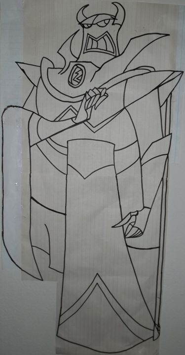 Evil Emperor Zurg - My Artwork