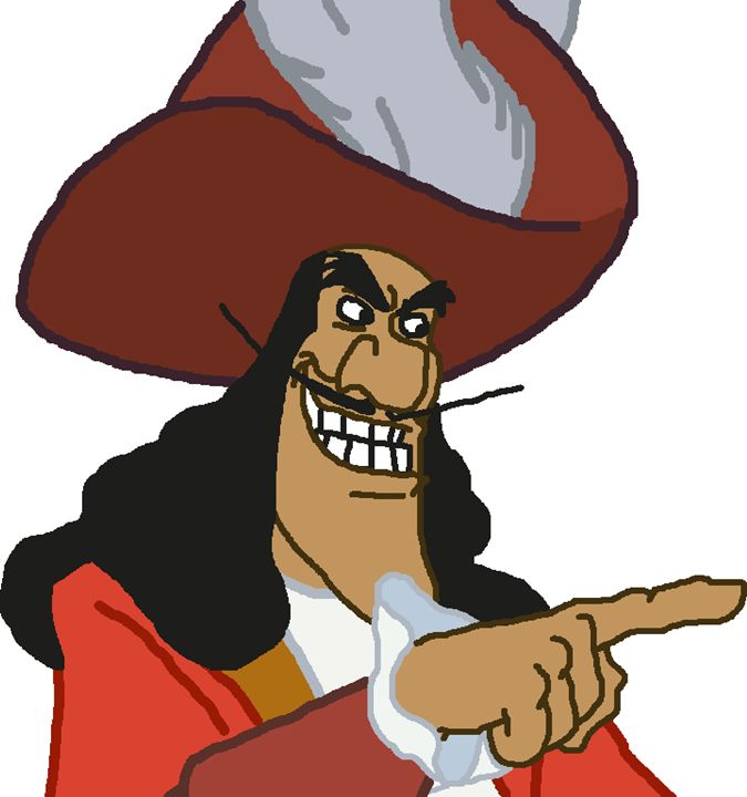 Captain Hook - My Artwork