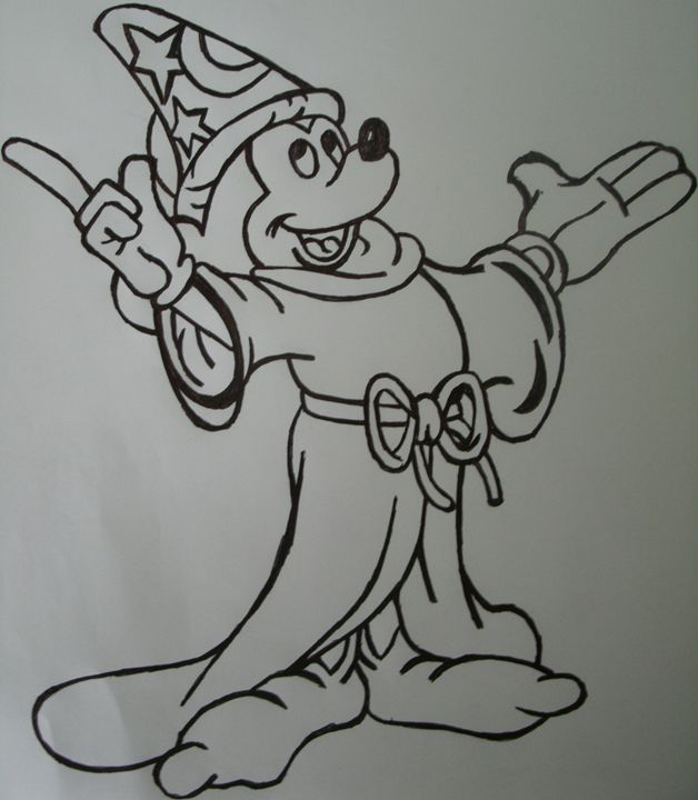 Sorcerer Mickey - My Artwork