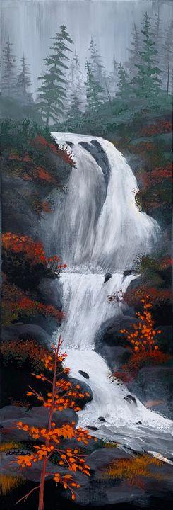 Cascading Falls - Mittelstadt Art Works