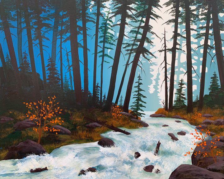 White Water - Mittelstadt Art Works