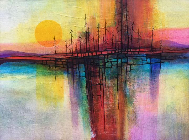 COLORFUL SUNSET - Mittelstadt Art Works