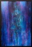 Original abstract acrylic