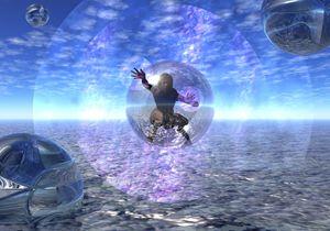 Sliding Between Dimensions