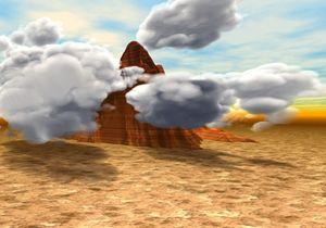 Yahweh Descends on Mount Sinai