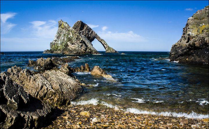Bow Fiddle Rock (Creag fìdhle bogha) - Andy StuArt Photography