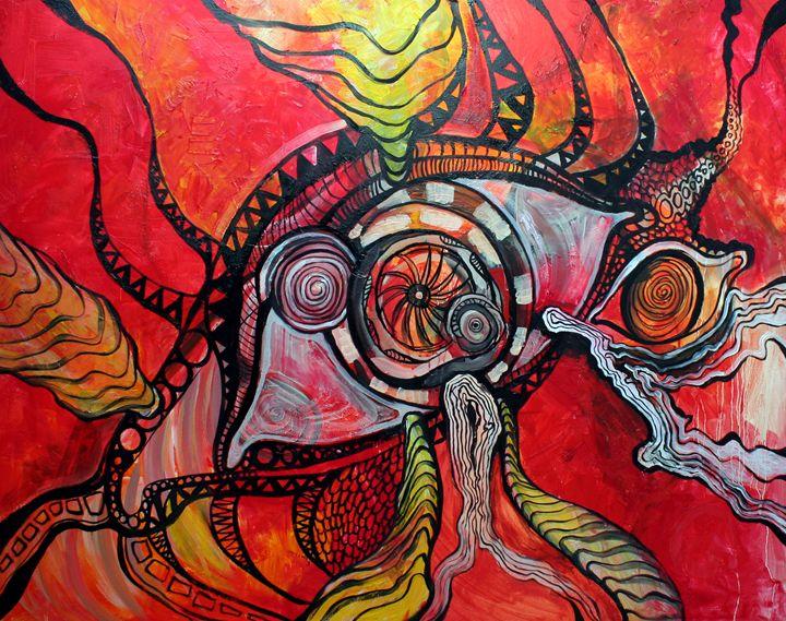 Eye in flames - Akimi