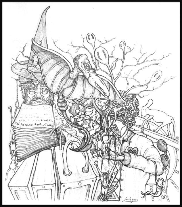 Mindhack2 - Jacob Yona's Art