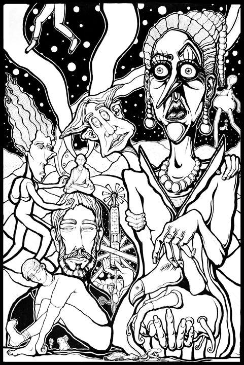 Kingdom of the Lost - Jacob Yona's Art