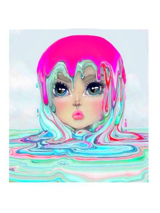 Melted ice cream - Kitsy