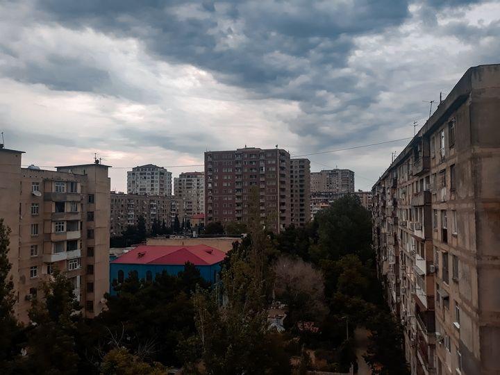 Cloudy morning - Sofia