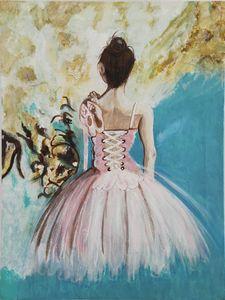 Ballerina's back