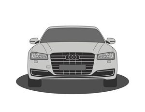 Audi A8 Vector