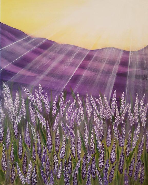 lavender field - @s.avei_art