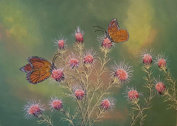 Butterflies dance - @s.avei_art