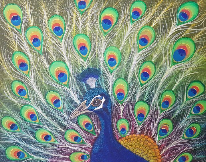 Peacock - @s.avei_art