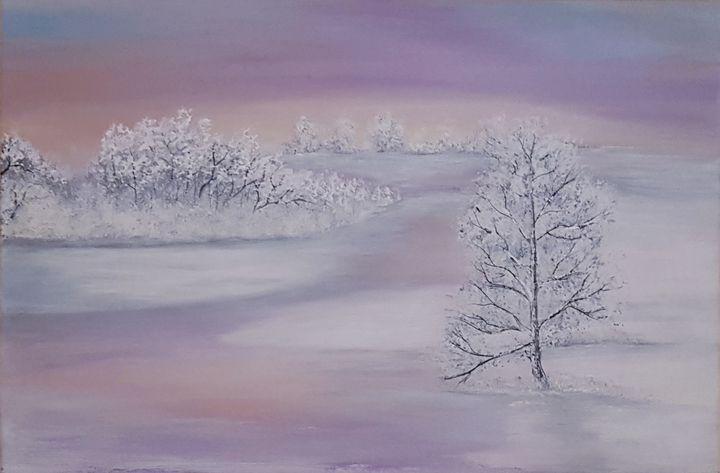 Winter silence - @s.avei_art