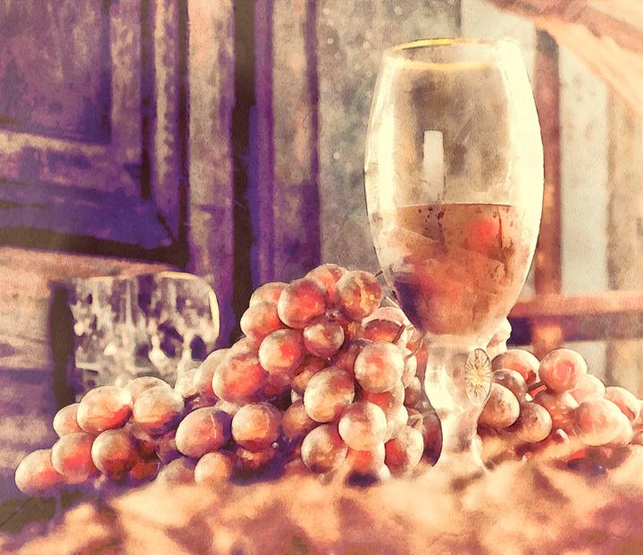 Wine and grapes - taduks83