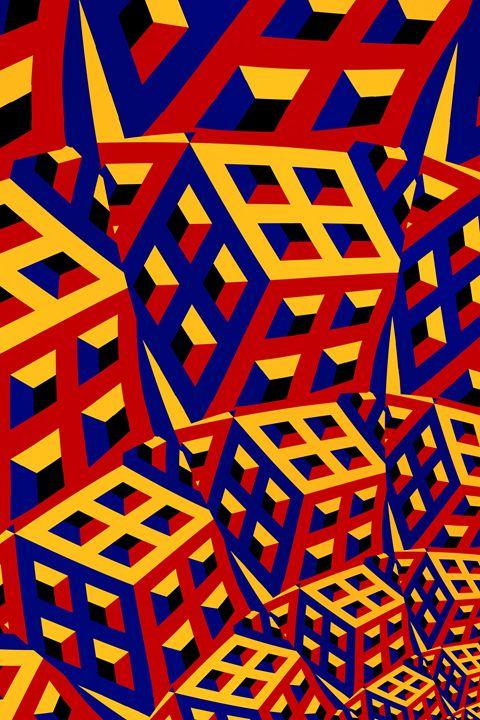 Cubic fractal - Igorsin Gallery