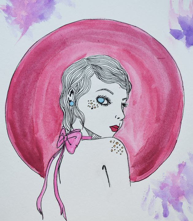 Geometric Girl #3 - TeaTimeForMe