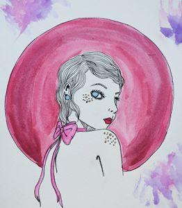 Geometric Girl #3
