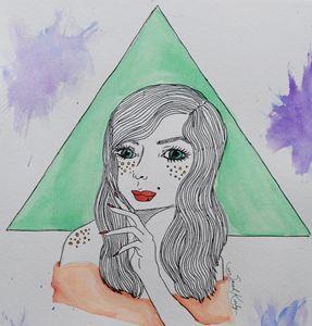 Geometric Girl #2