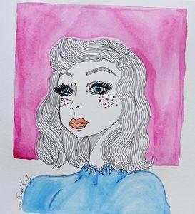 Geometric Girl #1